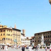 Photo taken at Piazza della Signoria by Alessandro G. on 10/17/2012