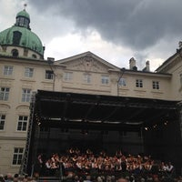 Photo taken at Hofburg Innsbruck by Ayman F. on 7/27/2014