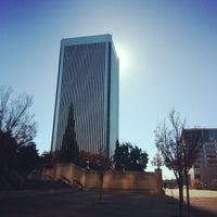 Photo taken at Kanawha Plaza by Tyler W. on 11/18/2013