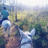 Photo taken at Mountain Equestrian Trail by Lindsey L. on 11/24/2013