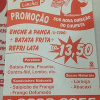 Photo taken at Pança Lanches (do Chupeta) by Luciano N. on 7/19/2013