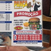 Photo taken at Pança Lanches (do Chupeta) by Luciano N. on 4/7/2014