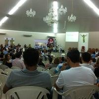 Photo taken at Paróquia São Luiz Gonzaga by Gusavo A. on 10/7/2012