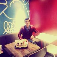 Photo taken at Taksim McDonald's by Caner Ç. on 10/28/2015