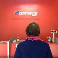 Photo taken at Correos Chile by Tatiana F. on 7/18/2013