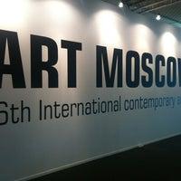 Снимок сделан в Art Moscow пользователем Pavel V. 9/22/2012