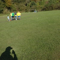 Photo taken at Pleasington Playing Fields by Ady C. on 10/14/2012