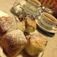 Photo taken at Café Hawelka by Tero on 2/18/2013