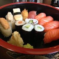 Photo taken at Sushi Bar Rice Garden by Tero on 5/28/2013