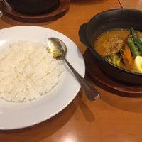 6/17/2018にとんぼ と.がスープカレーとカレーの店 天馬 札幌ステラプレイス店で撮った写真