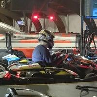 Photo taken at Yeti Karting by Tim on 10/7/2017