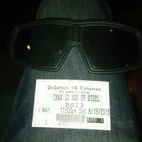 Photo taken at Cobb Theatre Dolphin 19 & IMAX by Mike P. on 6/16/2013