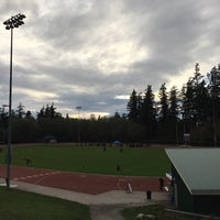 Photo taken at South Surrey Athletic Park by Dana A. on 11/8/2015