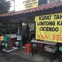 Photo taken at Kupat Tahu Lontong Kari Cicendo (sejak 1967) by Hadian A. on 11/20/2017