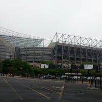 Photo taken at St James' Park by Sura H. on 5/29/2013