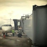 Photo taken at La Crosse Regional Airport (LSE) by Sura H. on 4/12/2013