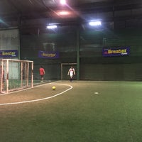 Photo taken at SD Indoor Soccer by Seiuchi U. on 1/21/2015