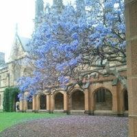 Photo taken at The University of Sydney (USYD) by Jennifer B. on 11/15/2012