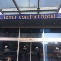 11/23/2017 tarihinde İsmet T.ziyaretçi tarafından İzmir Comfort Hotel'de çekilen fotoğraf