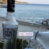 Photo taken at Mazı Koyu (Bodrum) by Zeynep Vural on 7/26/2018