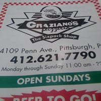Photo taken at Graziano's Pizzeria by Danny H. on 7/14/2013