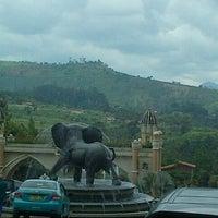 Photo taken at Kampung Gajah Wonderland by Mutty on 3/10/2013