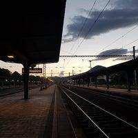 Photo taken at Železniční stanice Lovosice by Jenda Š. on 6/17/2017