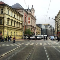 Photo taken at Národní třída by Jenda Š. on 4/29/2013