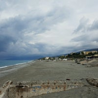 Photo taken at Lungomare San Francesco di Paola by Jenda Š. on 10/9/2016