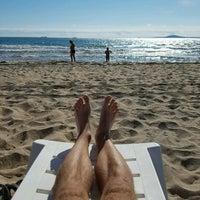 Photo taken at Южен плаж Бургас (South Beach) by Jenda Š. on 9/2/2016