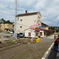 Photo taken at Železniční stanice Semily by Jenda Š. on 6/29/2016