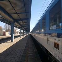 Photo taken at Železniční stanice Lovosice by Jenda Š. on 3/27/2017