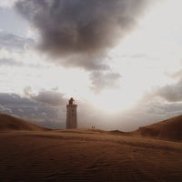 Photo taken at Nørre Rubjerg by Terry M. on 8/18/2014
