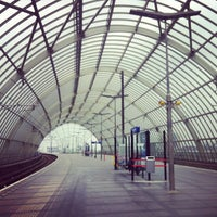 Photo taken at Amsterdam Sloterdijk Station by Terry M. on 6/11/2013