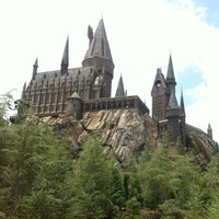Photo taken at Harry Potter and the Forbidden Journey / Hogwarts Castle by Pessoa J. on 6/7/2013