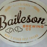 Photo prise au Baileson Brewing Company par Carolyn Y. le9/8/2017