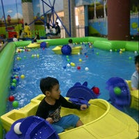 "Photo taken at ""Lollipop Play Land 'Love Mall"" by Mila S. on 8/1/2014"