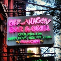 Photo taken at Off The Wagon Bar & Grill by Evan J. on 7/21/2013