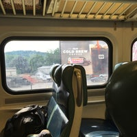 Photo taken at Metro North - Hawthorne Train Station by Monica F. on 7/17/2016