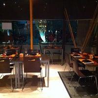 Photo taken at Sensations Sushi Marbella by Chiara V. on 1/8/2014