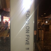 Photo taken at Food on Five Food Court by Clayton L. on 9/30/2013
