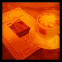 Photo taken at Cafe Evropa by Inna P. on 9/29/2012