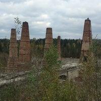 Photo taken at Заброшенный мраморно-известковый завод by Inna P. on 9/18/2016