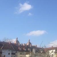 Photo taken at Mühlburg by Sabine K. on 4/7/2013