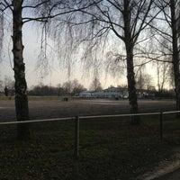 Photo taken at Reitverein Kehl-Sundheim by Sabine K. on 1/26/2013
