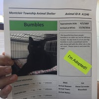 Photo taken at Montclair Township Animal Shelter by KTB on 8/16/2017