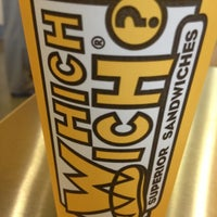 Photo taken at Which Wich? Superior Sandwiches by Jim W. on 10/2/2012