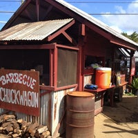 Photo taken at Hawi Chuckwagon Barbecue by Jeff D. on 2/21/2013