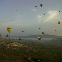 Photo taken at Ürgüp Hot Air Balloons by Amar M. on 4/6/2013