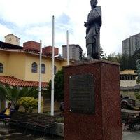 Photo taken at Plaza Bolívar by Ramon C. on 6/12/2013
